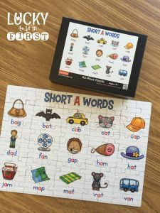 Mastering Short Vowels with Games! Make your own Shutterfly Puzzles!!