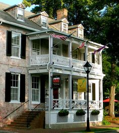 Hambleton House (Maryland) with sleeping porch