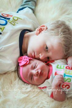 Big brother. Little Sister <3 LaurenZemensPhotography.com