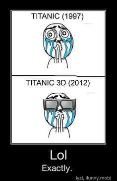 I haven't gone to see it in 2012 because I assume this will be exactly what would happen!