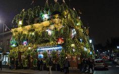 The Churchill Arms: Britain's most festive pub?
