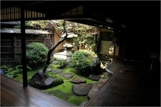 japanese garden / courtyard