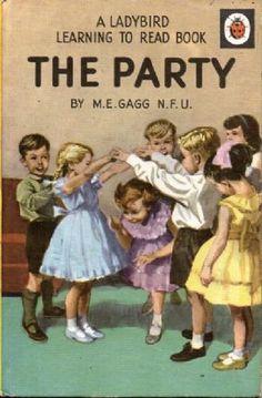 THE PARTY Vintage Ladybird Book Learning to Read Children's Series Matt Hardback 1969