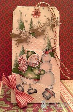 Frosty Love by love2scrapnat - Cards and Paper Crafts at Splitcoaststampers
