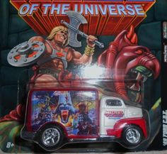 HOT WHEELS MASTERS OF THE UNIVERSE '49 FORD C.O.E. FREE SHIPPING!!