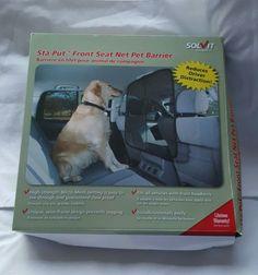 Solvit-Sta-put-Front-Seat-Net-Pet-Barrier-32-x-32-Vehicle-Dog-Safety