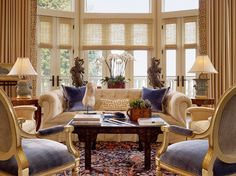 traditional living room by Cecilie Starin Design Inc.