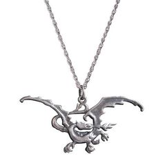 Love this! Necklace based on J.R.R. Tolkien's drawing of Smaug the Magnificent, Chiefest and Greatest of Calamaties! :)