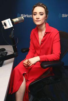 SAOIRSE RONAN at SiriusXM Studios in New York 04/21/2016