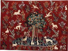 wall tapestry Unicorn - Tree of Life