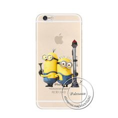 f6c6d515f1 New Arrival Minions Case Cover For Apple iPhone 6 6S Super Cute Design Cases  For iPhone6