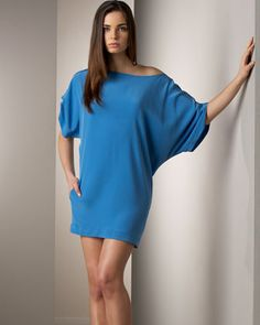 Elizabeth And James Blouson Silk Dress - Neiman Marcus