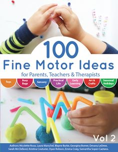 100 Fine Motor Ideas is a wonderful resource for parents, teachers and therapists seeking fun activities for kids to engage them in fine motor skills. Fine Motor Activities For Kids, Science Experiments For Preschoolers, Lego Activities, Motor Skills Activities, Gross Motor Skills, Hands On Activities, Preschool Science, Science Ideas, Steam Activities