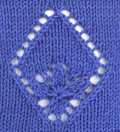 Estonian Waterlily, a basic motif found in the Estonian Lace category.