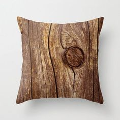wood pillow: