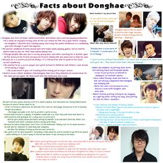 Facts about Donghae | Super Junior | SuJu | Lee Donghae | ELF | KPOP |Fishy