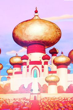 Disney Background Aladdin The Sultans Palace