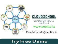 Complete ERP Software for School Management by Neolite Infotech.