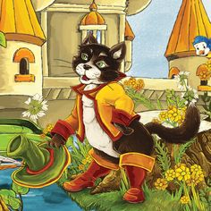 Puss in Boots Interactive French Fairy Tale