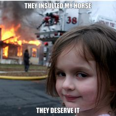 A Disaster Girl meme. Caption your own images or memes with our Meme Generator. Funny Profile Pictures, Funny Reaction Pictures, Funny Photos, Funny Faces Pictures, Nurses Week Memes, Funny Meems, Images Esthétiques, Reaction Face, Baby Girl Pictures