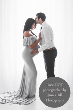 James Hill Photography provides maternity & newborn photography in Atlanta as well as family portraits and senior pictures. Maternity Gowns, Maternity Session, Senior Portraits, Family Portraits, Grey Gown, Shoulder Sleeve, Dress For You, Family Photographer, Baby Photos