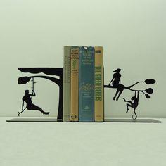 Tarzan Metal Art Bookends - Free USA Shipping