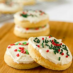 Lofthouse Style Frosted Sugar Cookies...The icing is amazing.  Just made it tonight and I will be using this for my Christmas cookies.