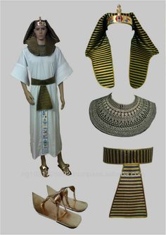 Egyptian Pharaonic King Costume for Halloween