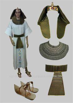 Egyptian Pharaonic King Costume for Halloween