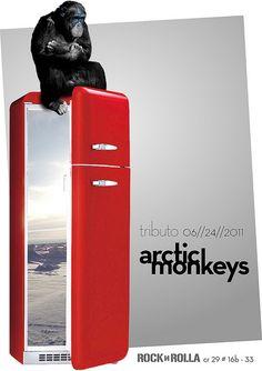 Arctic Monkeys - gig poster