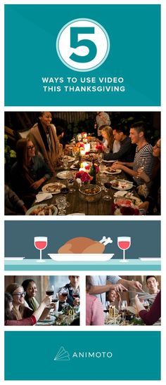 5 ways to use video this Thanksgiving
