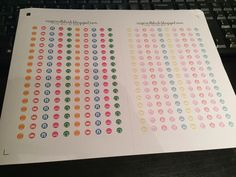 InspiredBlush: TINY ICON STICKERS FOR YOUR PLANNERS!