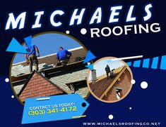 Make sure to choose a roofer that offers you great products, service, and value. Let Michael's Roofing serve your needs, and enjoy a wide selection of the best roofing materials and unsurpassed service at a price you can afford. Roofing Services, Cool Roof, Roofing Materials, The Selection, Movie Posters, Products, Film Poster, Billboard, Film Posters