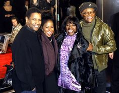 Denzel Washington and Samuel Jackson with their spouses. Tv Couples, Famous Couples, Celebrity Couples, Power Couples, Actor Denzel Washington, Black Love Couples, Samuel Jackson, Thing 1, The Jacksons