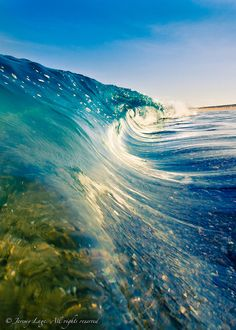 The ocean really represents for me a reflection of the majesty of our Creator! The waves are absolutely stunning