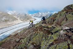Mountainbiking in Valais