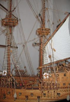 Big scale ship model!