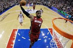 Heat star LeBron James is expected to be awarded Monday with his fourth NBA MVP trophy in the past five seasons. San Diego Basketball, Basketball Rim, Girls Basketball Shoes, Basketball Legends, Miami Heat, Nba Heat, Nba Mvp Trophy, Lebron James, Best Dunks