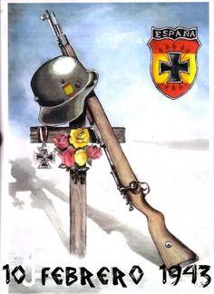 División Azul - El día 10 de Febrero de 1943, en la batalla de Krasny-Bor, cayeron 2000 soldados españoles de esta División