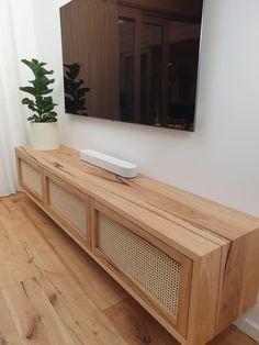 Living Room Lounge, Living Room Storage, Small Living Rooms, Home Living Room, Tv Units With Storage, Tv Lounge Design, Small Tv Unit, Tv Unit Furniture Design, Rattan Ottoman