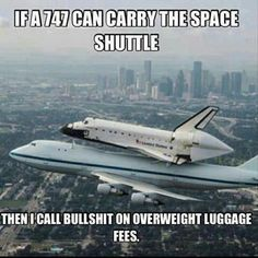 747, spaceshuttle, funny