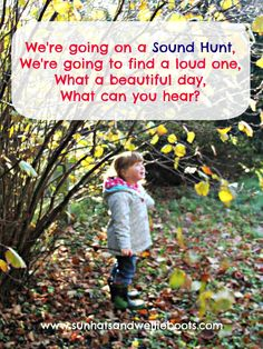 Sun Hats & Wellie Boots: We're Going on a Sound Hunt...