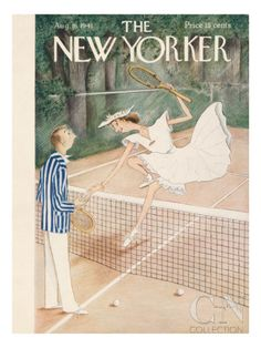 The New Yorker Cover - August 16, 1941 Poster Print by Mary Petty at the Condé Nast Collection
