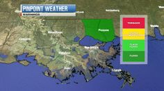 forecast or weather map for new orleans louisiana   wwltv.com   New Orleans Weather Maps - WWLTV.com