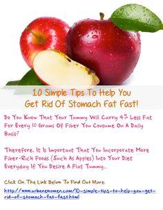 how to make tummy flat fast