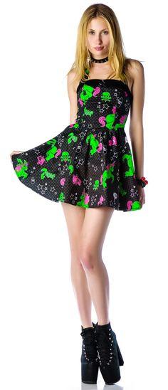 Hell Bunny I Heart Zombie Dress | Dolls Kill