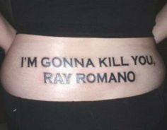 Funny Tramp Stamp Photo