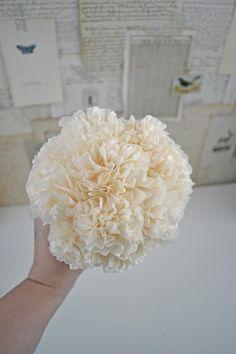 tissue paper centerpieces wedding - Google Search