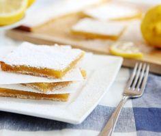 Lemon Squares 30 low-carb desserts