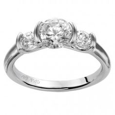 Adriana ArtCarved Diamond Engagement Ring
